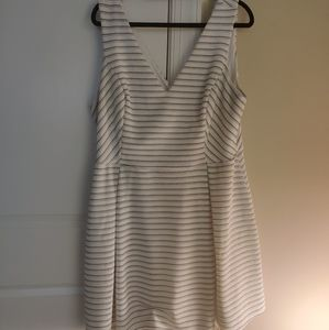 FTF Little black and white dress